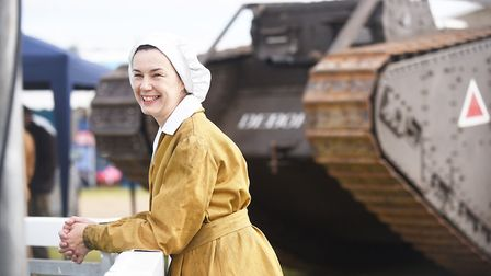 Fiona Kay enjoying the first day of the Royal Norfolk Show. Picture: Ian Burt