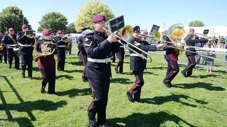 Royal Norfolk Show, 2018. The Band of the Parachute Regiment.Picture: ANTONY KELLY
