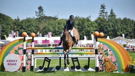 Royal Norfolk Show, 2018. Showjumping in the main ring.Picture: ANTONY KELLY