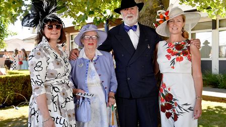 Bessed dressed competition winners at the 2018 Royal Norfolk Show.Rosemary Ison, Gloria Daines and G