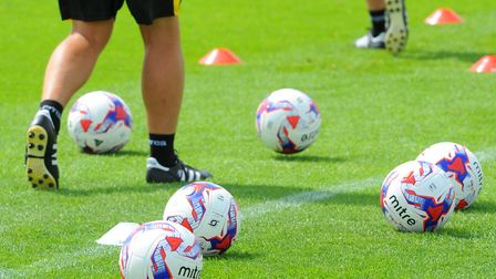 The footballs will soon be back out on the pitches at Colney, after City's players returned for pre-