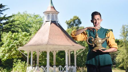 Actor Steven Roberts will be playing Aladdin in the Norwich Theatre Royal panto this year.Picture: A
