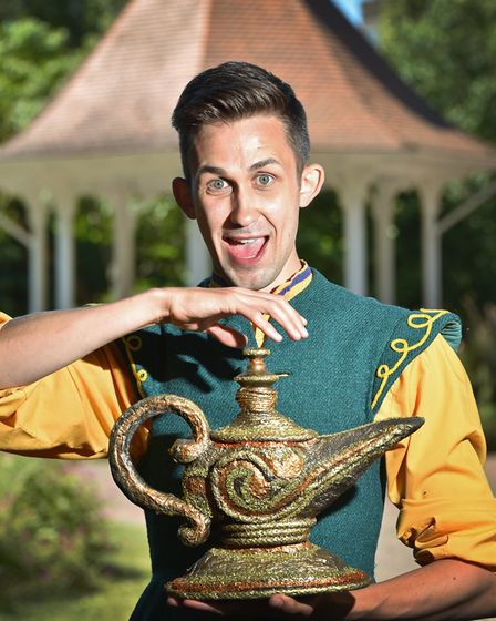 Actor Steven Roberts will be playing Aladdin in the Norwich Theatre Royal panto this year. Picture: