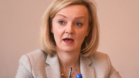 Liz Truss, who attacked cabinet colleagues during a speech at the LSE Picture: Ian Burt