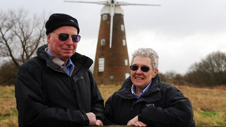 Julie and Herbert Websdell who volunteer to raise money for a number of caused around Harleston. Pho