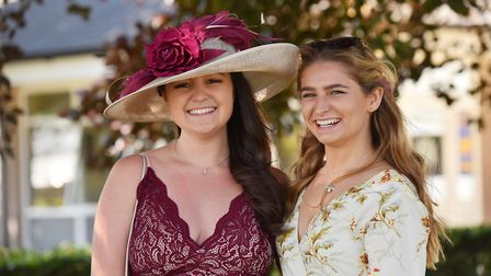 Fashion at the Royal Norfolk Show 2018.Maddie Whitbourn and Beth Cargill.Picture: Nick Butcher
