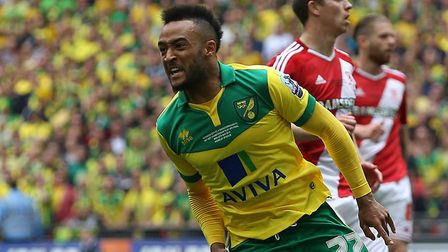 Nathan Redmond scored a memorable play-off final goal for City Picture: Paul Chesterton/Focus Images