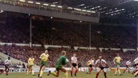City's first Wembley win was in the League Cup final of 1985 Picture: Archant Library