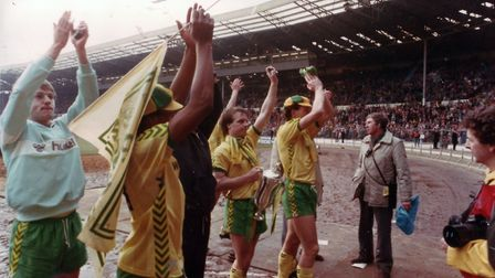 The Canaries edged Sunderland 1-0 at Wembley in 1985 Picture: Archant Library