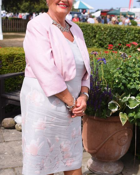 Best dressed competition winner Chris Taylor at the Royal Norfolk Show. Picture: DENISE BRADLEY