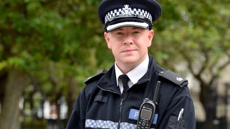 Supt Terry Lordan is the new District Commander for Norwich Police.Picture: Nick Butcher