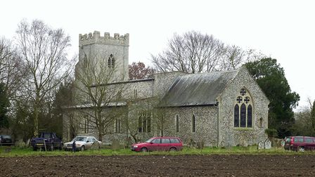 The remote church of St Michael's & All Angels at Didlington. PHOTO: John Hocknell