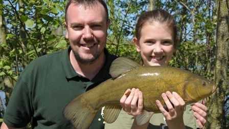 Matt and Heidi Gallant are the best father and daughter team Picture: John Bailey