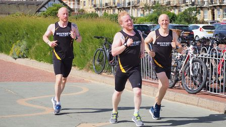 Lowestoft parkrunners in action at the weekend. Picture: Gary Pembroke