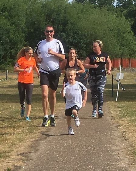 Thetford parkrun on Saturday 23rd June 2018. Photo: Laura Lawrence/Louise Cook