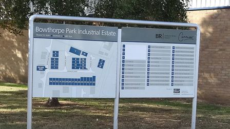 Bowthorpe Industrial Estate - latest figures suggest that industrial and office investment still off