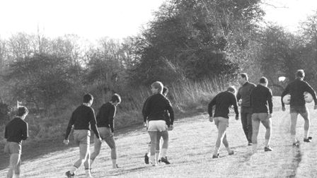 City players hard at work at the old Trowse training ground Picture: Archant