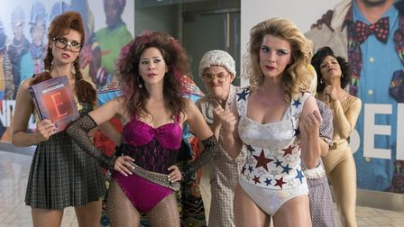 GLOW: Series two features more exploits from the Gorgeous Ladies of Wrestling (C) Netflix