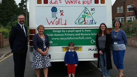 Cody, from Hillside Avenue Primary and Nursery School. Pic: Norfolk County Council.