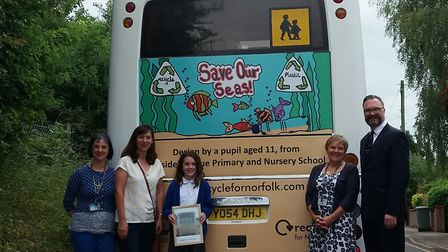 Hannah, from Hillside Avenue Primary and Nursery School. Pic: Norfolk County Council.