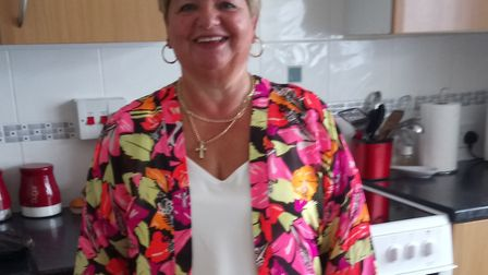 Sandra Auker after losing 17lbs Picture supplied by West Norfolk CCG