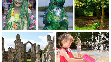 Just some of the free things happening around Norfolk this summer (Images L-R: Lee Blanchflower, Den