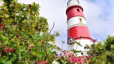 Happisburgh lighthouse - one of best-known sights of the East Anglian coastline. Picture: Nick Butch