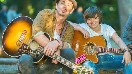 Britain's Got Talent stars Jack and Tim Goodacre performed at the Royal Norfolk Show last month. Pho