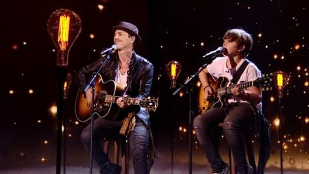 Britain's Got Talent finalists Jack and Tim Goodacre, from Eccles, Norfolk. Photo: ITV