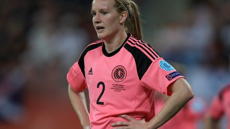 Vaila Barsley in action for Scotland during UEFA Women's Euro 2017 Picture: Mike Egerton/PA