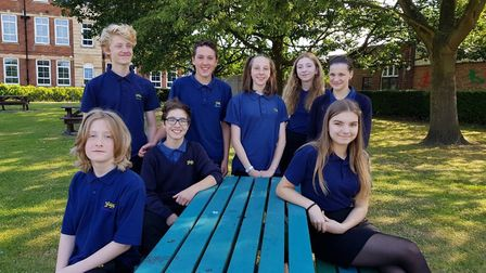 City of Norwich School students have been involved with a playwriting project with the University of