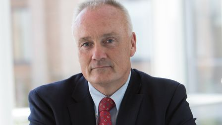 Mark Davies, the chief executive of the Norfolk & Norwich University Hospital. Photo: NNUH