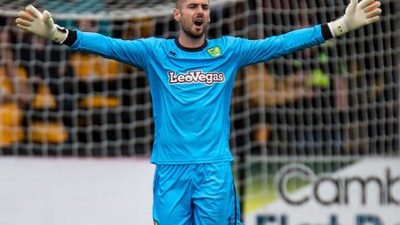 Remi Matthews's quest to become Norwich City number one could continue at The Walks Picture: Liam Mc