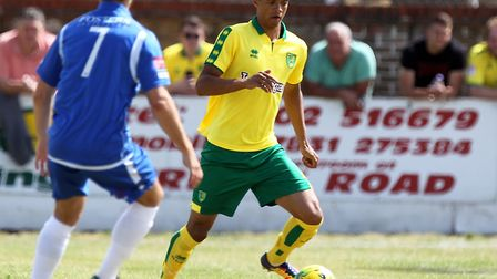 Jamal Lewis emerged as a canaries player during pre-season last year Picture: Paul Chesterton/Focus