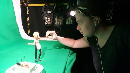 Norwich University of the Arts student Kaitlin Folland is to spend three weeks working with Aardman