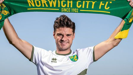 Ben Marshall became Norwich City's fourth signing of the summer over the weekend. Picture: Norwich C