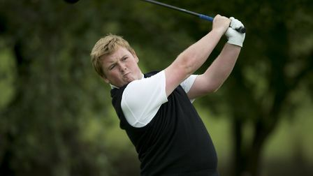 Jack Yule did himself and Norfolk golf proud at Open qualifying Picture: Leaderboard Photography