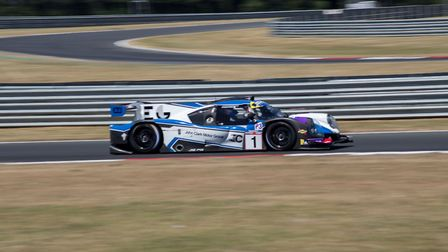 Colin Noble and Tony Wells, who secured two LMP3 Cup wins at Snetterton Picture: Ellen Tunstall Phot