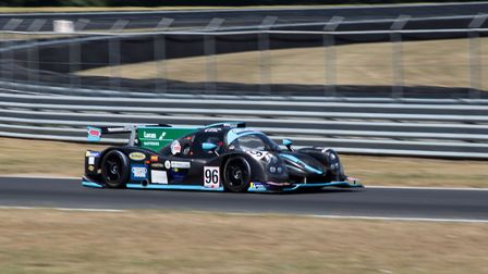 The race two LMP3 Cup-leading Jack Butel and Dominic Paul who were cruelly robbed of victory when a
