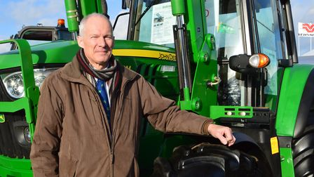 Ben Turner, managing director of Ben Burgess, pictured at the Lamma 2018 farm machinery show in Pete