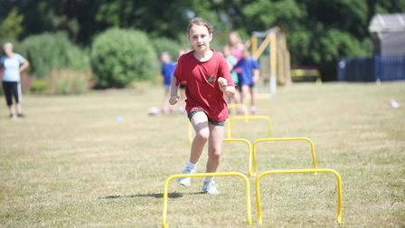 Pupils at the Nelson Academy in Downham Market, had the chance to work with TEAM GB athletes, part o