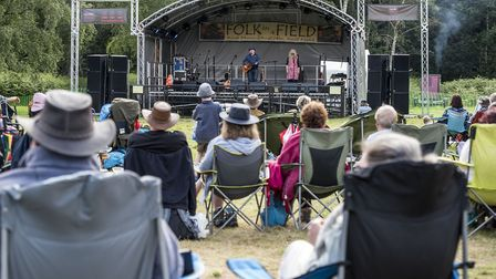Scenes from Folk in a Field Festival at West Acre. Picture: Matthew Usher.