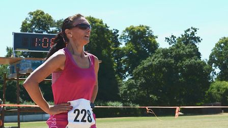 Action from the Harling 10K on Sunday. Photo: Malcolm J Blades Sport Photography