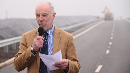 Martin Wilby, chairman of Norfolk County Council's environment, development and transport committee,