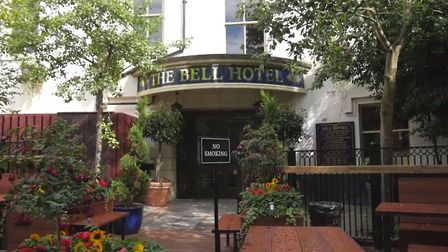 The Bell Hotel in Norwich is promising 50% off drinks for a week if England win the World Cup (Image