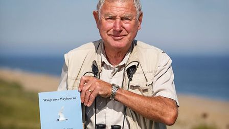 Former Sheringham GP Moss Taylor, whose latest book charts the history and birdlife of Weybourne Cam
