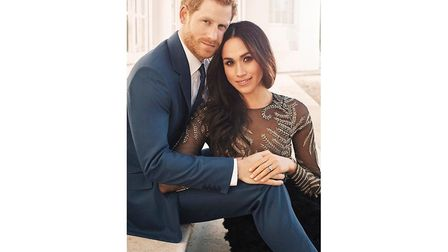 Prince Harry and Meghan Markle engagement pictures. PHOTO: Alexi Lubomirski