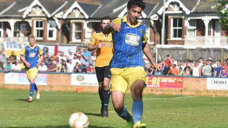 Simon Lappin has signed for Wroxham. Picture: Sonya Duncan