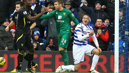 If the shirt fits - in Bobby Zamora's case, it wasn't a City one Picture by Paul Chesterton/Focus Im
