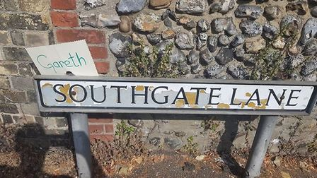 Southgate Lane in Lakenham has been renamed. Picture: Clive Jolly